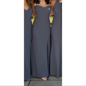 After six bridesmaid/prom/formal gown/dress